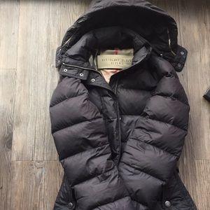 Burberry down puffer jacket